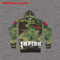 New arrival camo hoodies man for wholesale