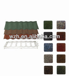 manufacture of metal roofing tile