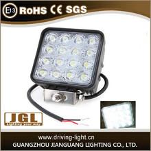 JGL 48W LED Work Light Bestsell Automobile Square 48w work light led