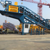 CE certificate YHZS50 small Mobile concrete mixing batching plant