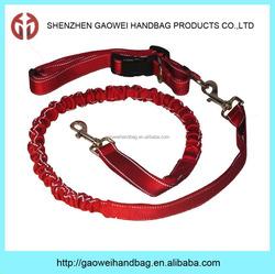 Hands Free Running Dog Leash with Belt Bag;wholesale dog leash;hands free dog leash;dog collar and leash
