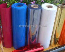 PVC Shrink Label Film;PVC shrink film for label printing