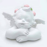 2015 hot sale table decoration small size cheap little angel figurines for sale