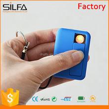 Smart plastic rechargeable no flame cigarette lighter
