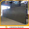 China manufacturing 3 axles 40ft container trailer price, trade assurance