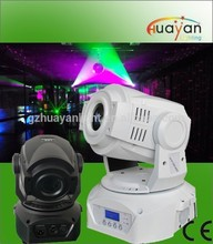 HY-2018-75 model DMX control rotation and fixed gobo wheels moving head led 75w
