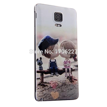 phone cases Cover For Samsung Galaxy Note 4 Cover Hard Cell 3D Relief Phone Case (12 photo selection)