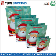 Popular christmas gift packaging bag