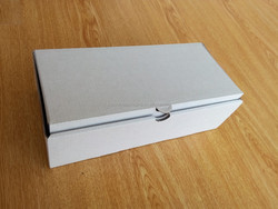 White corrugated frozen seafood/meat/beef packing box