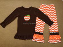 أحدث! الجملة الاطفال الملابس الزي هالوين اليقطين مع التصاميم نمط