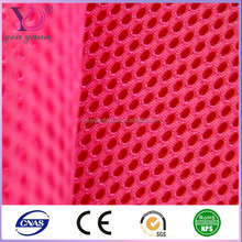 Washable and dries easily 3D spacer fabric for mattress cushion and pillow