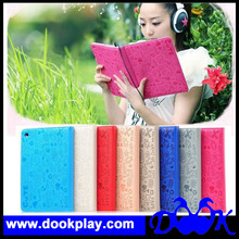For iPad5 iPad 5 Cute Girl Leather Cover Case - with stylus and screen protector