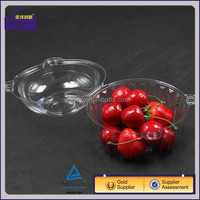 Disposable plastic transparent deli container clear food grade salad box