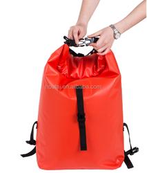 2015 waterproof shoulder packbag with outer pocket bike bag
