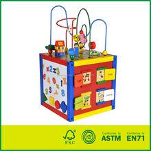De madera 5 en 1 preescolar juguetes