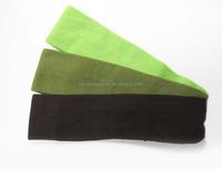 Bulk sport headbands unisex hair accessories