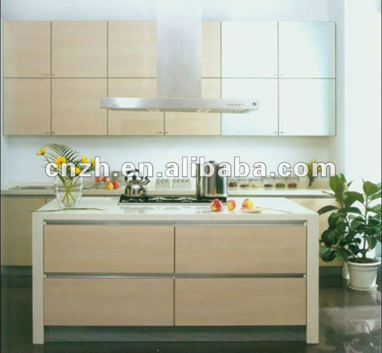 Vinyl Wrap Kitchen Cabinets & High Gloss Mdf Panel, View