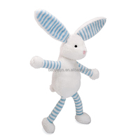 Wholesale custom long legs stuffed toy plush rabbit toy for christmas gifts