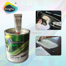 Non-Clog Refinish Paint Car Body Filler Repairing Cars Gallon/polyester putty for furniture