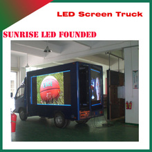 Shenzhen Led Full Color Advertising Display Screen For Truck in alibaba electronics products