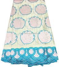 New arrivals of soft korea fabric Fashion 100% Cotton Swiss Voile Lace Fabric in Switzerland