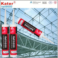 KALI Series topping quality transparent silicone adhesive for glass