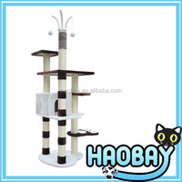 Best price indoor cat house & cardboard cat house cat furniture