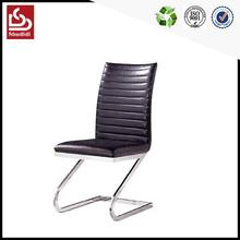 Good quality pu dining room chairs black lacquer