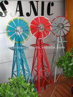 Garen metal windmill for garden decoration