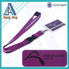 High quality polyester lanyard safety breakaway buckles