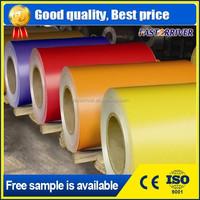 1050 1060 1100 3003 3105 5052 color coating aluminium painted coil