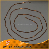fashion copper brown necklace chain