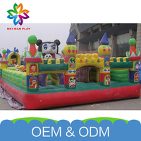 Best Quality Kids Inflatable Bouncers 2015 Newest Playground Giant Inflatable Castles