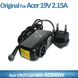 19V 2.15A 40W 5.5*1.7mm AD040W For Acer Mini Laptop Charger