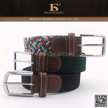 Fashion Top Hot Selling Men's Leisure Braided Belts