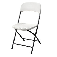 cheap outdoor plastic used metal folding chair and table folding furniture sale