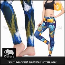 OEM digital printing factory wholesale yoga gym wears