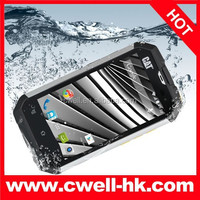 CAT B15 Q Aluminium Body IP67 Waterproof Rugged Smartphone 4 Inch Corning Gorilla Touch Screen MTK6582M Quad Core 5.0MP Camera
