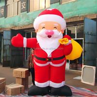 2015 gaint cartoon character Santa Claus inflatable advertising