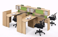 Wooden office cubicle partition,modular office furniture