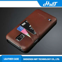 Ultrathin leather back cover cell phone cases for Samsung galaxy S5