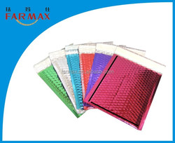 2015 Farmax colored bubble mailers padded,wrap shipping envelopes,metallic color bubble mailer