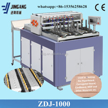 automatic grooving machine to make cardboard DVD covers