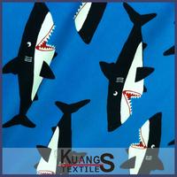 wholesale shark print fabric