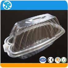 disposable small hard stackable plastic trays for cakes