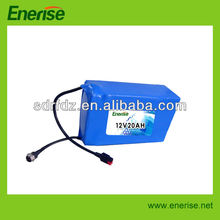12V 20Ah lithium battery/LiFePO4 pack for golf trolley/golf cart
