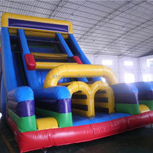 high inflatable slide , NO.622 top grade coconut tree inflatable slide