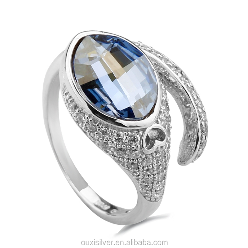 pin jewellery 925 silver ring sell gemstone on made in