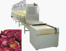 tunnel flower tea dryer and sterilizer-automatic machine