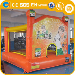 Kids Fun Inflatable Castle , Large inflatable Bouncer , Giant Bouncy Castles, Ben 10 Bouncy